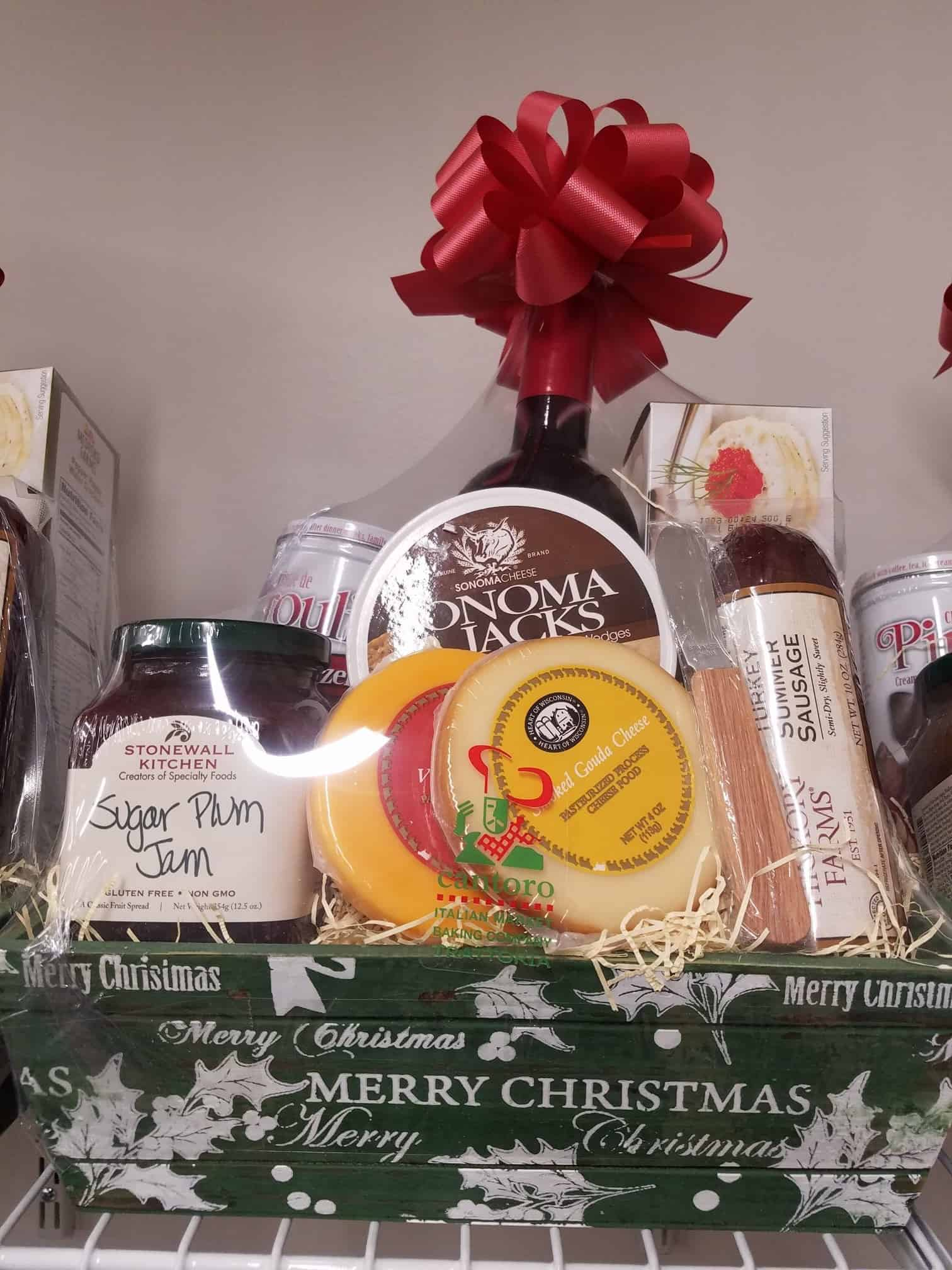 Gift baskets cards cantoro italian market pick up your holiday baskets or have a custom gift basket made negle