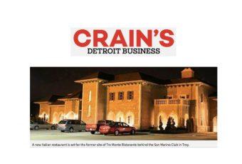 Crain's Detroit Business Cantoro