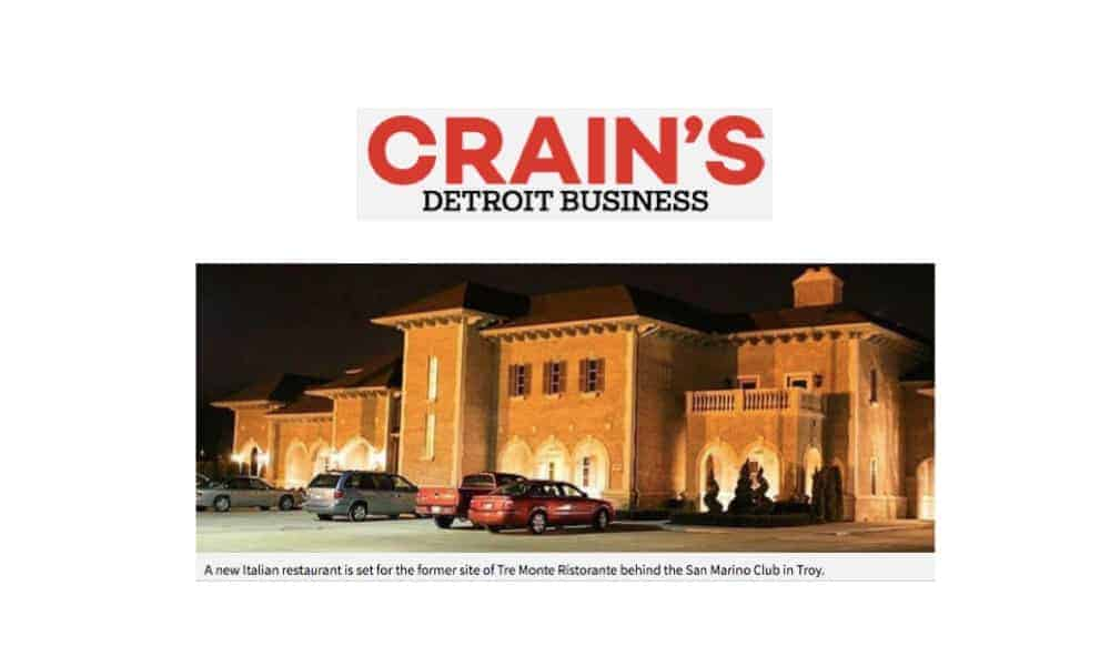 Crain's Detroit Business Cantoro
